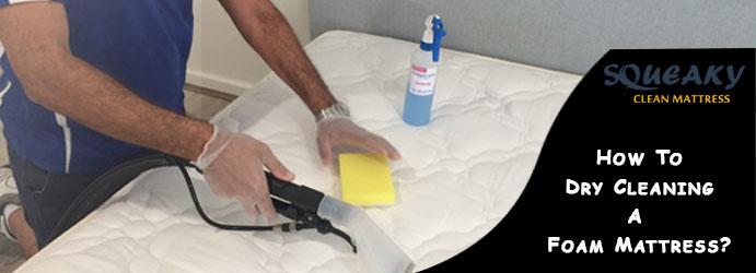 Dry Cleaning A Foam Mattress