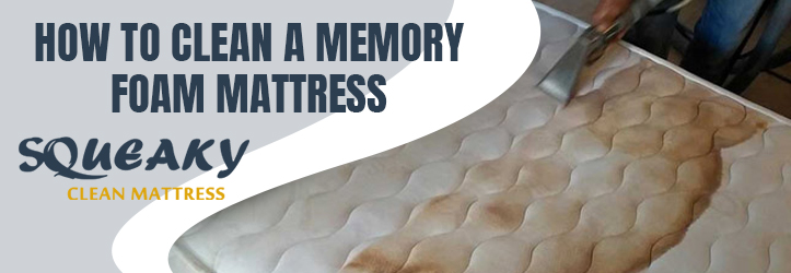 How To Clean A Memory Foam Mattress